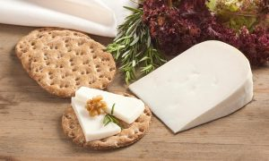 Kosher Cheese on a cracker