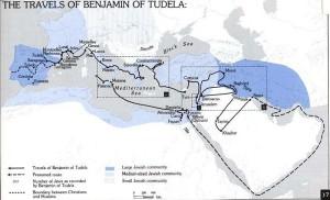 Benjamin of Tudela Map