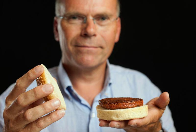 Mark Post and a Burger