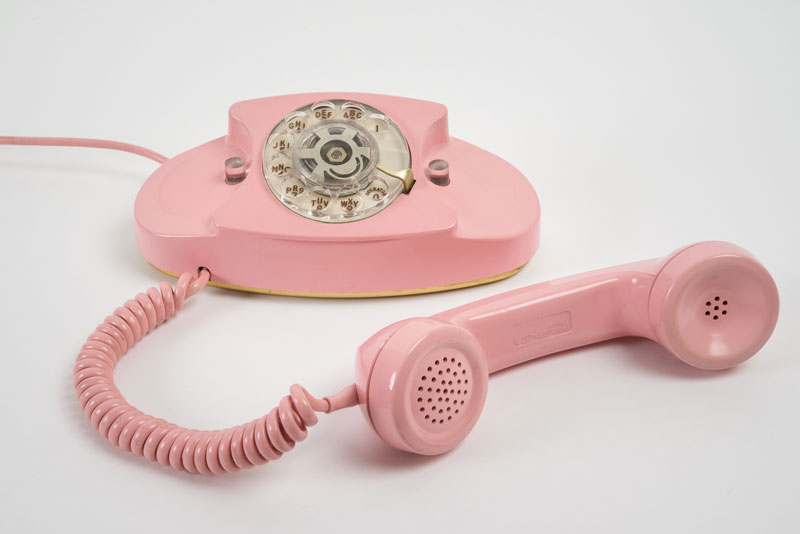 Visual Moment Pink Phones Midcentury Modernism Amp More