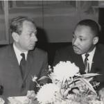 Joachim Prinz and Martin Luther King Jr.
