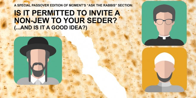 Ask the Rabbis // Special Passover Edition