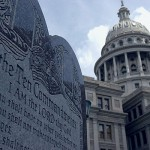 Ten Commandments in front of Courthouse