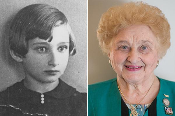 Nazi Holocaust survivor Nesse Godin