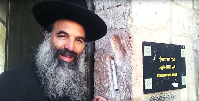 Rabbi Abraham Goldstein is head of the Diaspora Yeshiva.