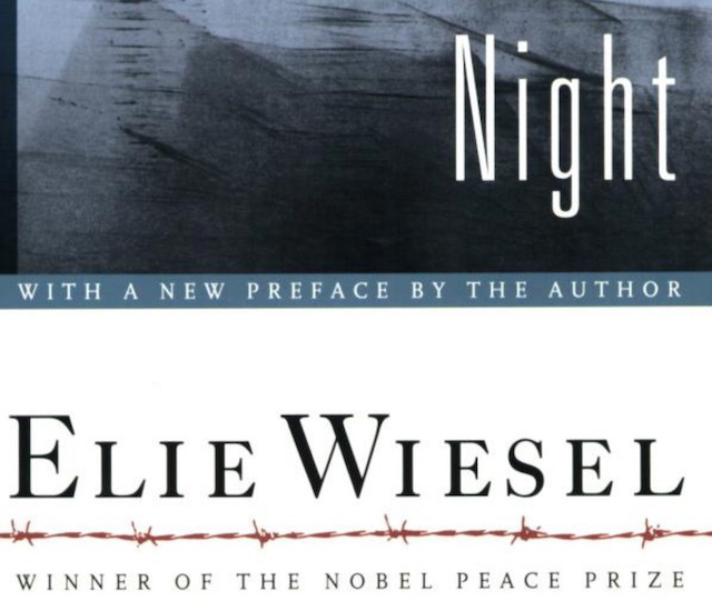 elie wiesel thoughts on humanity Night, by elie wiesel, is a memoir about his life in concentration camps during the time of the holocaust before going to the concentration camps, eliezer is a normal boy with a loving family who would do anything for him, and he would do anything for them.