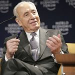 Shimon Peres at the World Economic Forum in 2007. Credit: Wikimedia Commons.