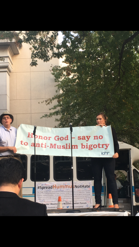 Jewish-Muslim peace speakers advocate to stop anti-Muslim bigotry