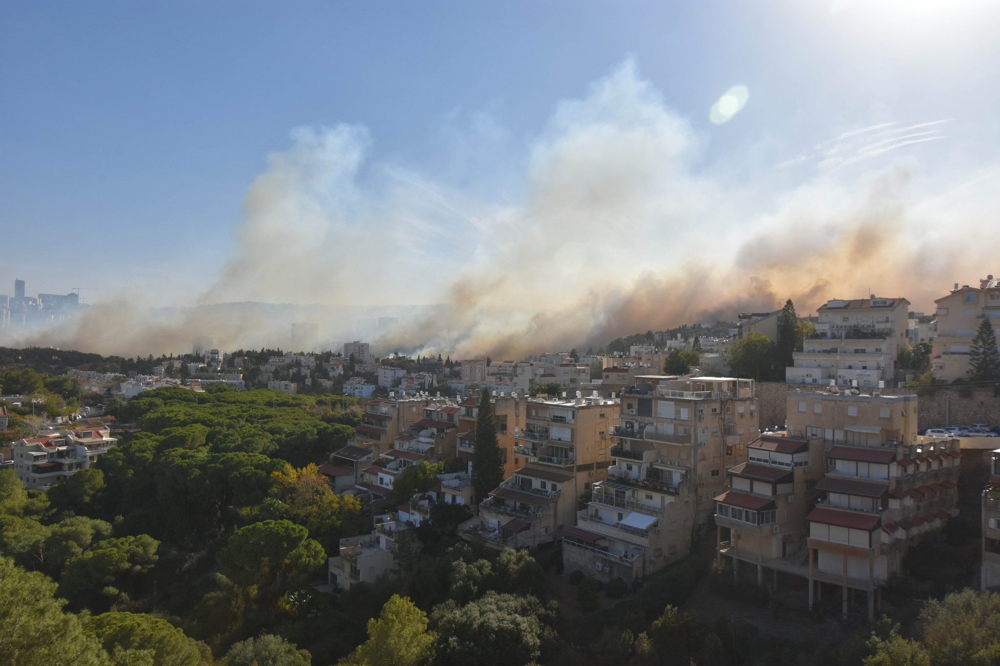 Israel's fires