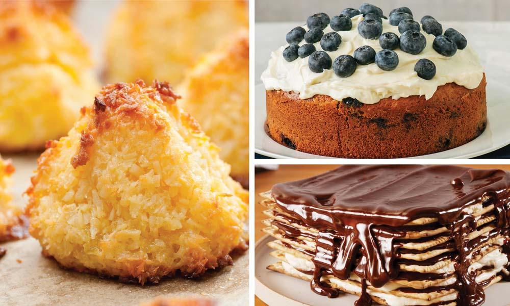 gluten free Passover desserts