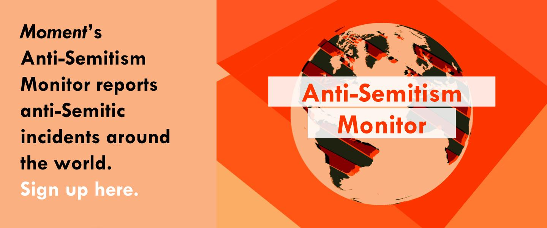 anti-semitism monitor