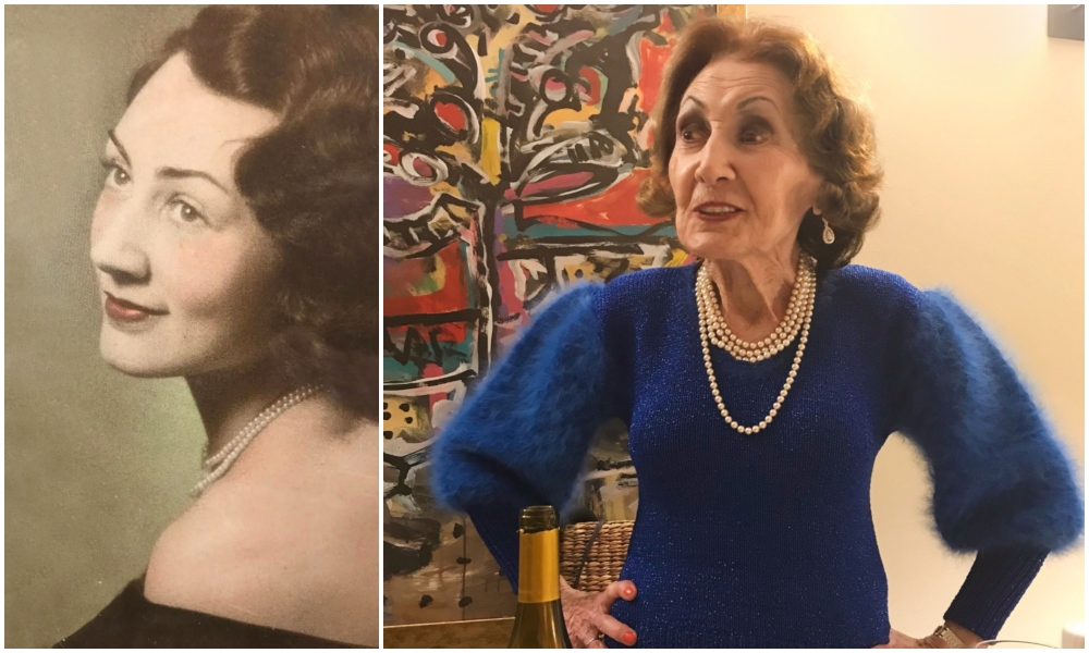 Helena Weinrauch, the girl with the blue Passover sweater