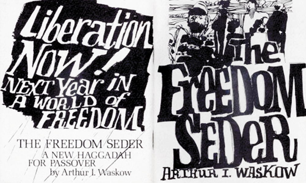 The Freedom Seder by Arthur Wasow