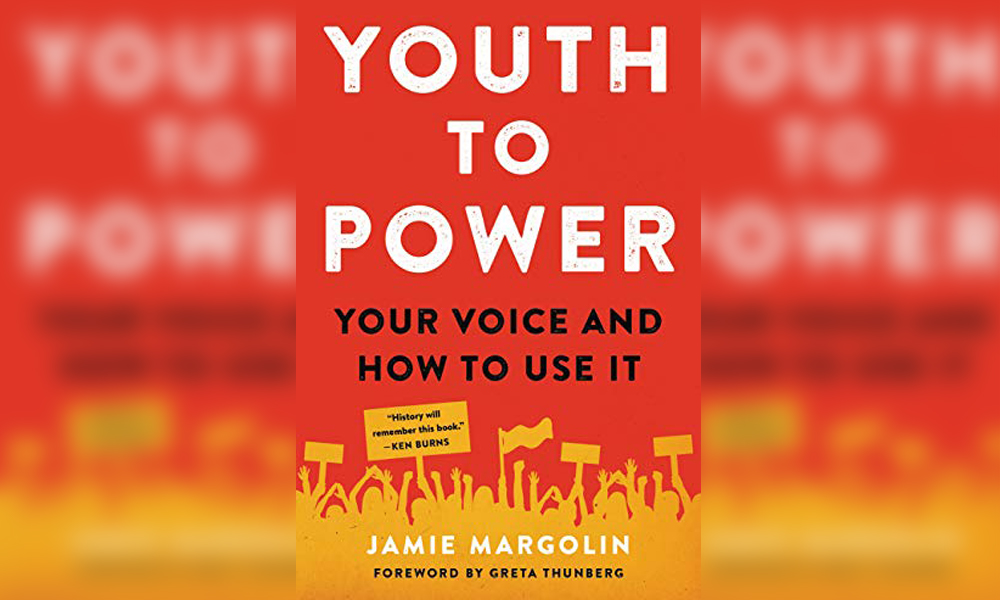 Youth to Power by Jamie Margolin and foreword by Greta Thunberg
