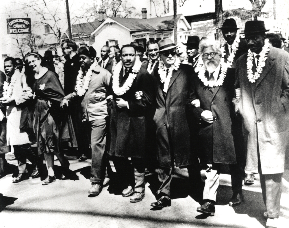 Martin Luther King Jr. and Abraham Joshua Heschel.