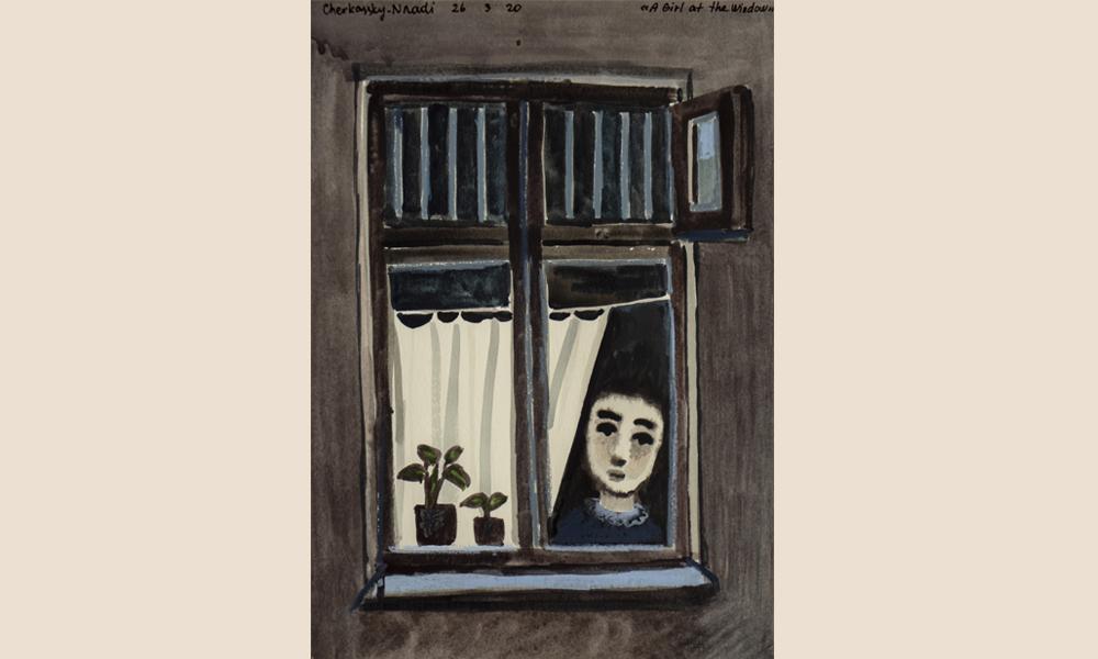 Zoya Cherkassky, A Girl at the Window