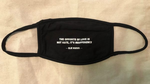 Elie Wiesel Mask: The Opposite of Love is Not Hate, It's Indifference
