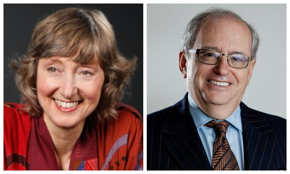 A Wide-Open Conversation with Author and Linguist Deborah Tannen and Political Scientist Norman Ornstein