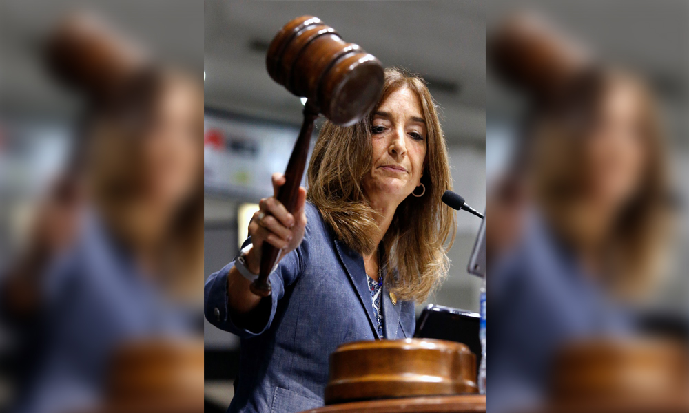 Eileen Filler-Corn, Virginia's first female—and first Jewish—Speaker of the House of Delegates