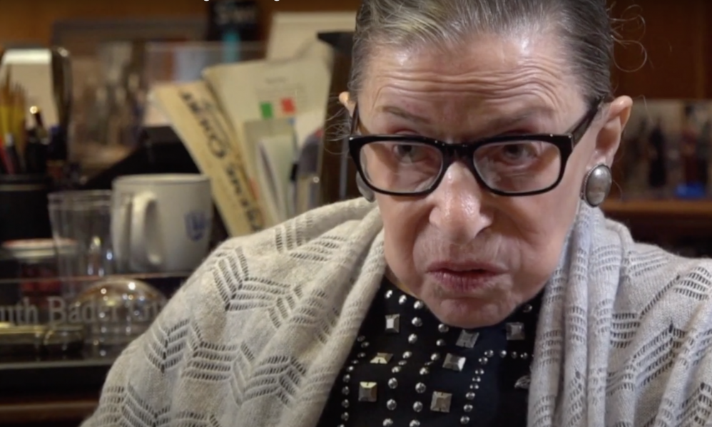 Watch Ruth Bader Ginsburg's Advice to Young People