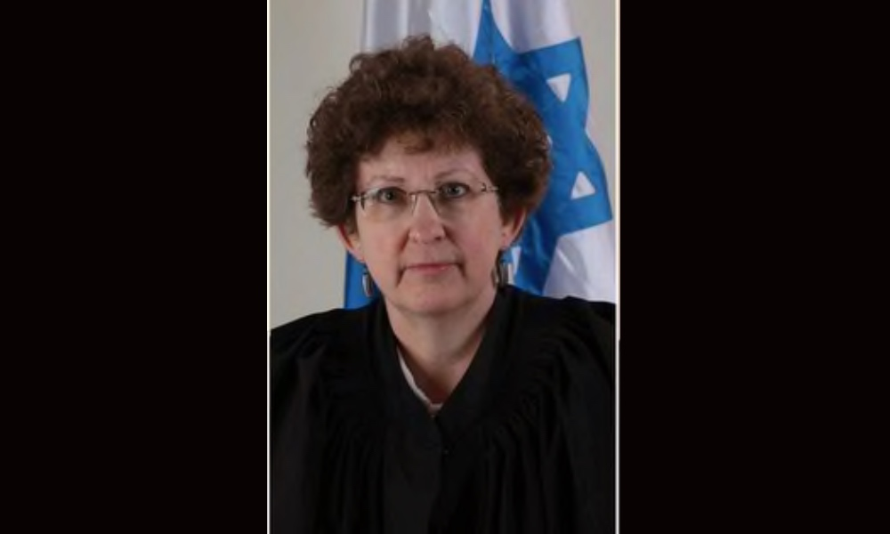 The Israeli judge presiding Bibi Netanhayu's trial is Justice Rivka Friedman-Feldman.