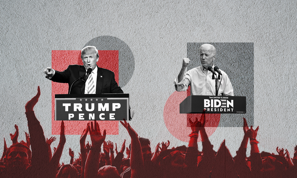 Final Moments of the 2020 Campaign: Trump/Pence vs Biden/Harris