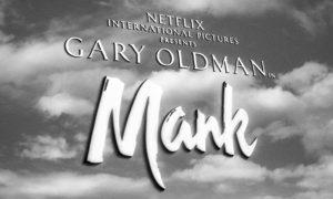 Mank film poster