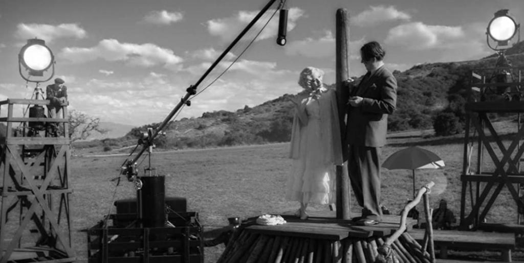 Gary Oldman and Amanda Seyfried in Mank (2020)-movie review by Glenn Frankel