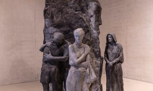George Segal. Abraham's Farewell to Ishmael, 1987.