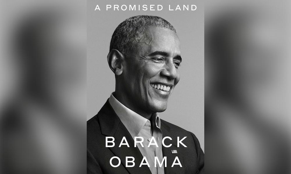 Obama memoir cover