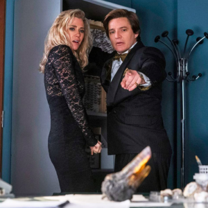 Pedro Pascal and Kristen Wiig in Wonder Woman 1984 (2020)