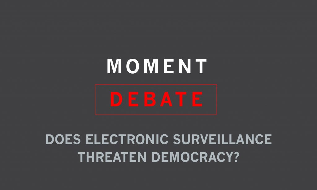 Surveillance debate top photo