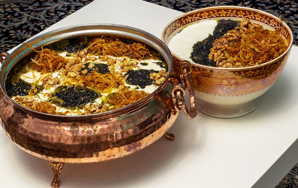 Ash Reshteh Persian Greens Beans and Noodle Soup