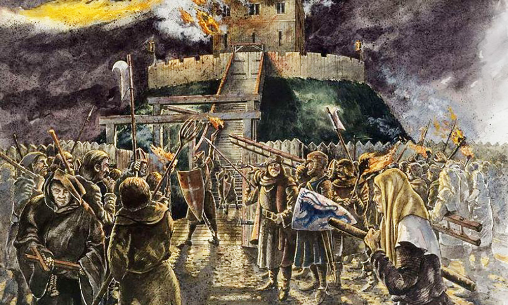 Jewis observed Passover despite persecution during the Crusades.