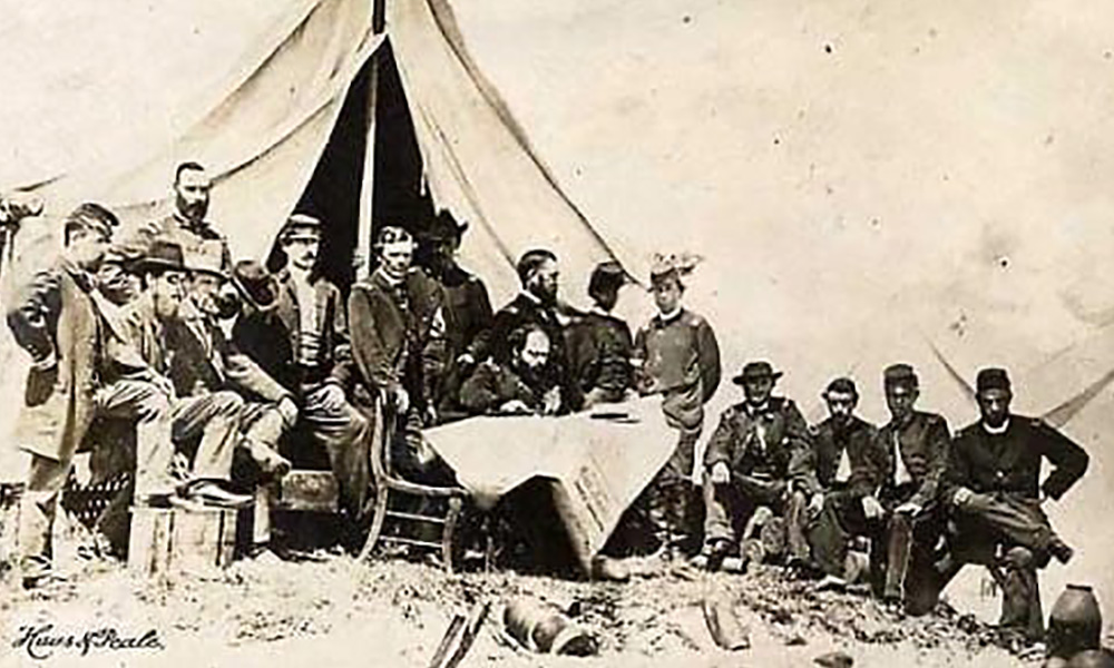 Jewish observance of Passover during the Civil War.