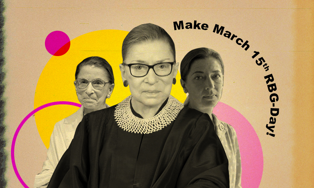 RBG's birthday