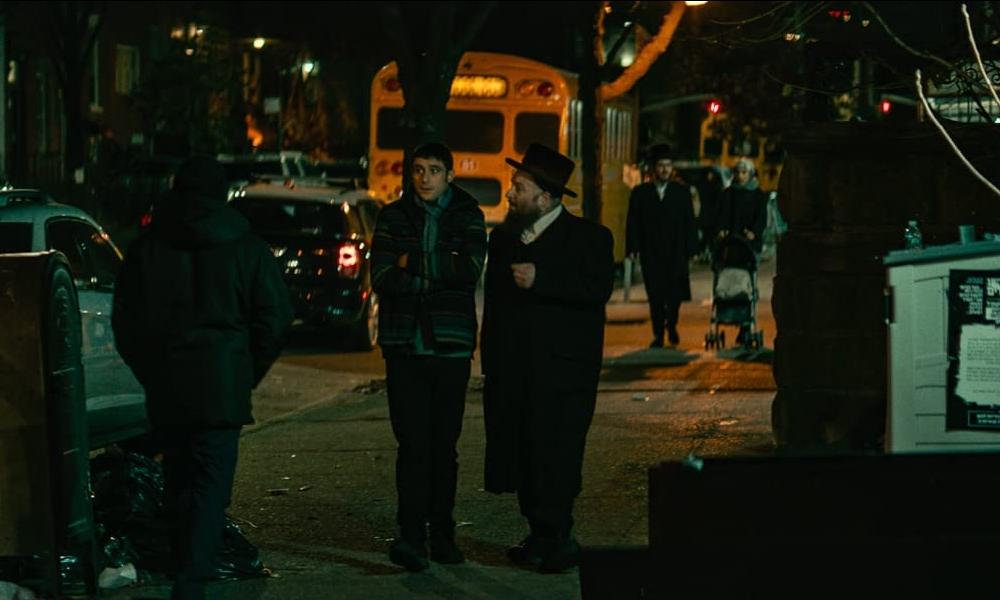 Dave Davis and Menashe Lustig in The Vigil (2019)