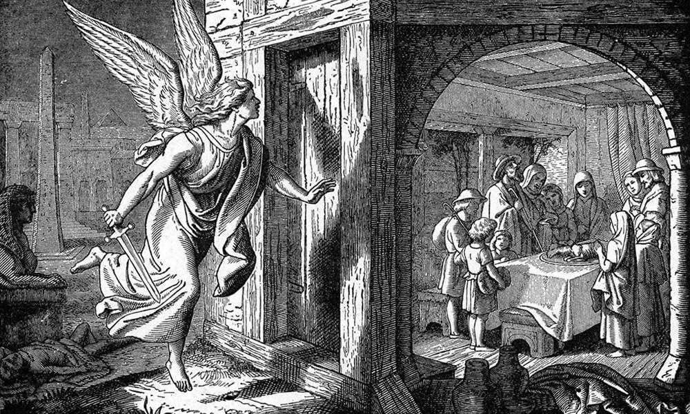 Passover Exodus Angel
