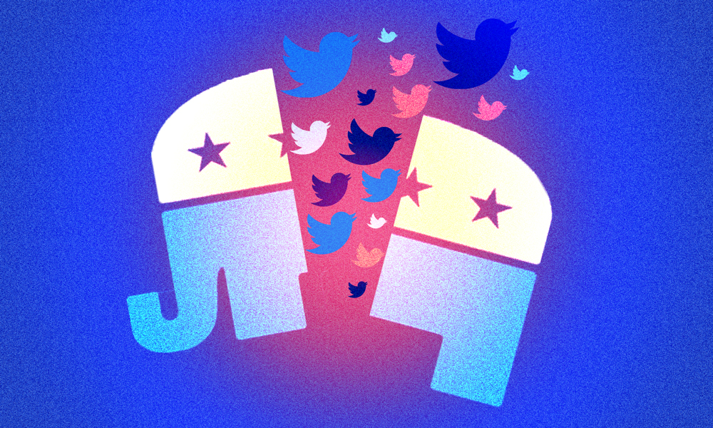 Twitter Explained | A Day in the Life of 'Half of Republicans'