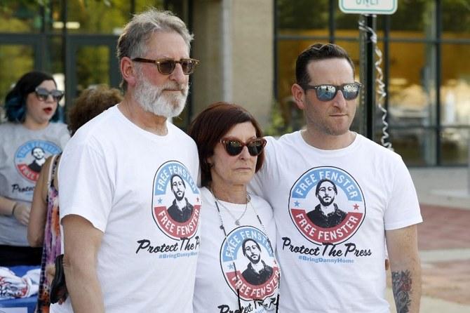 Parents of Danny Fenster