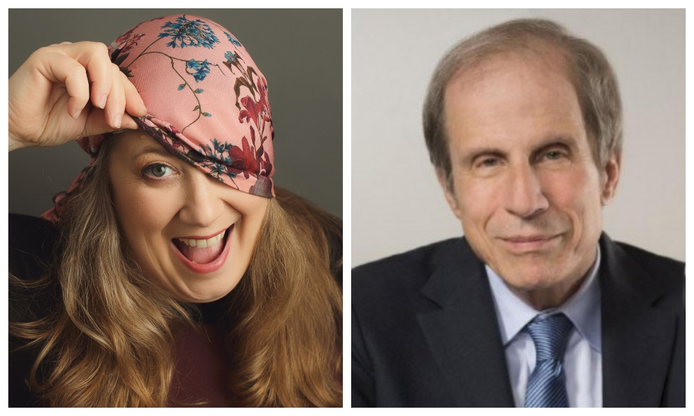 Moment Zoominar: Growing Up Funny with Jewish Comedian Rachel Creeger and Author Michael Krasny