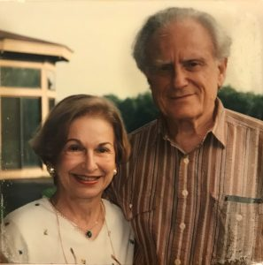 Erwin and Eleanor in 1996