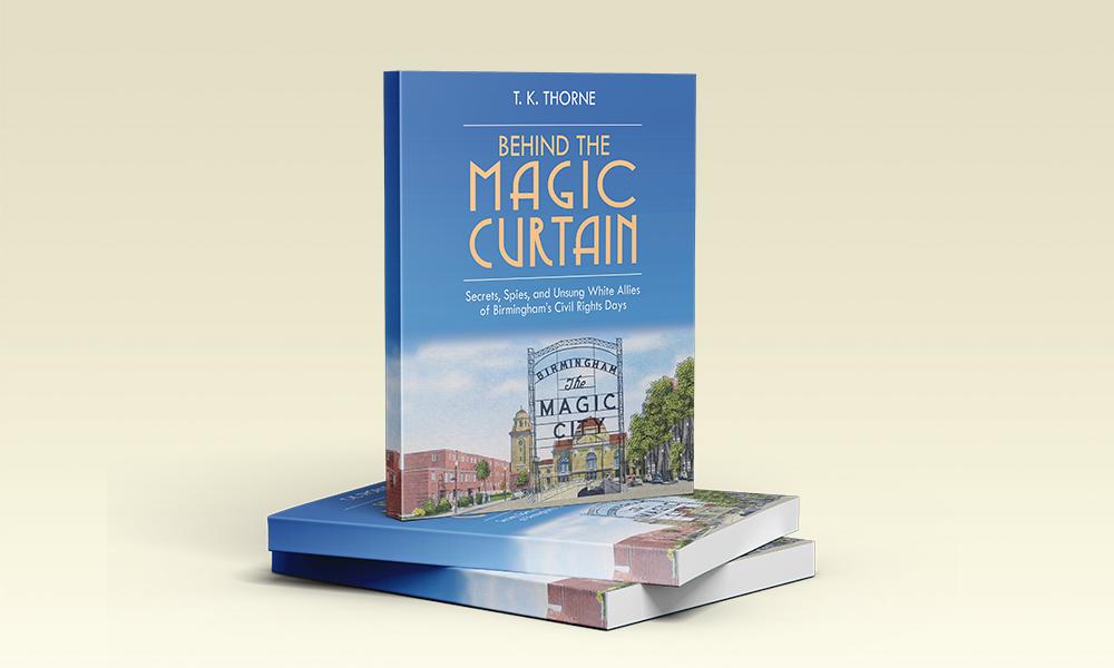 Behind the Magic Curtain book cover