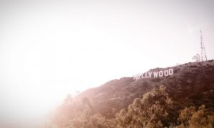 Hollywood sign where the Shidduch started.