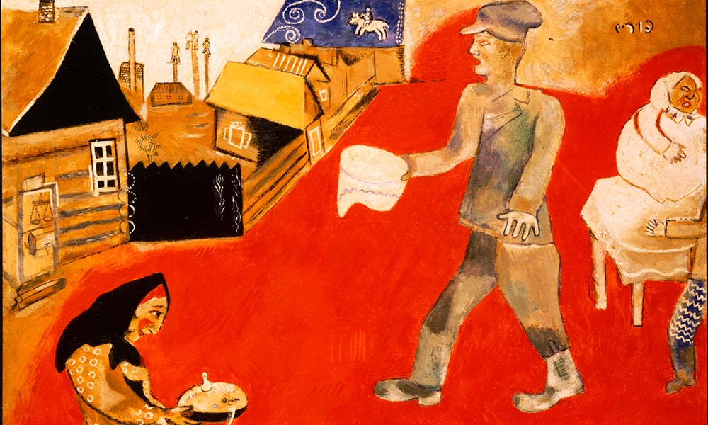 Like Piece Bonnard, the art of Marc Chagall could have been been a victim to looted items.