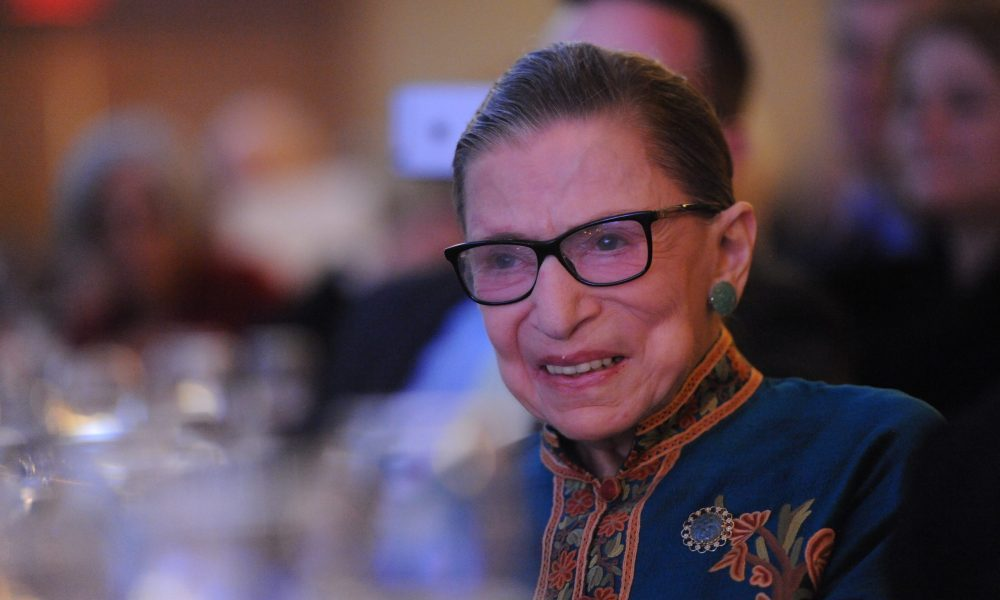 RBG is the focus of RBG's Brave and Brilliant Women: 33 Jewish Women to Inspire Everyone